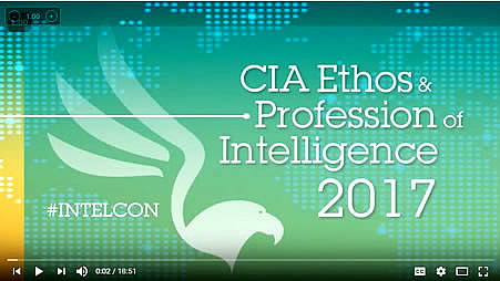 CIA Ethos & Profession of Intelligence 2017