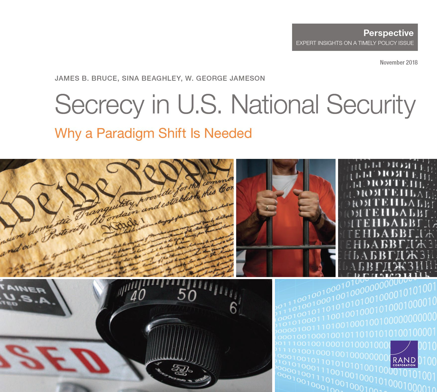 Secrecy in US National Security - Why a Paradigm Shift Is Needed