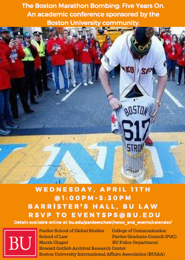 Boston Marathon Bombing BU Conference