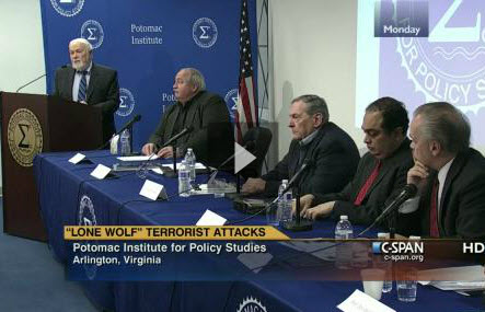 CSPAN Video of Lone Wolf Terrorist Attacks panel by Potomic Institute for Policy Studies