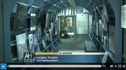 Tour of CIA Museum by Toni Hiley for C-SPAN - Part 1 of 2