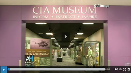 Toni Hiley, director and curator of the Central Intelligence Agency (CIA) Museum in Langley, Virginia, talked about the museum's collection and explained its mission of preserving and presenting the agency's history. This was the second of a two-part program.