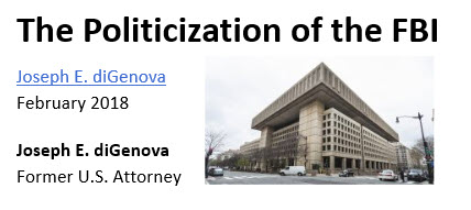 DiGenova on Politicization of the FBI