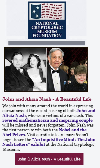 NCMF John Nash Letters and Exhibit
