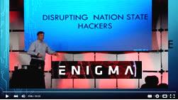 YouTube Presentation of Rob Joyce, TAO Chief, NSA