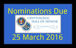 NSA Hall of Honor Call for Nominations
