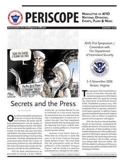 Periscope Summer 2006 Cover