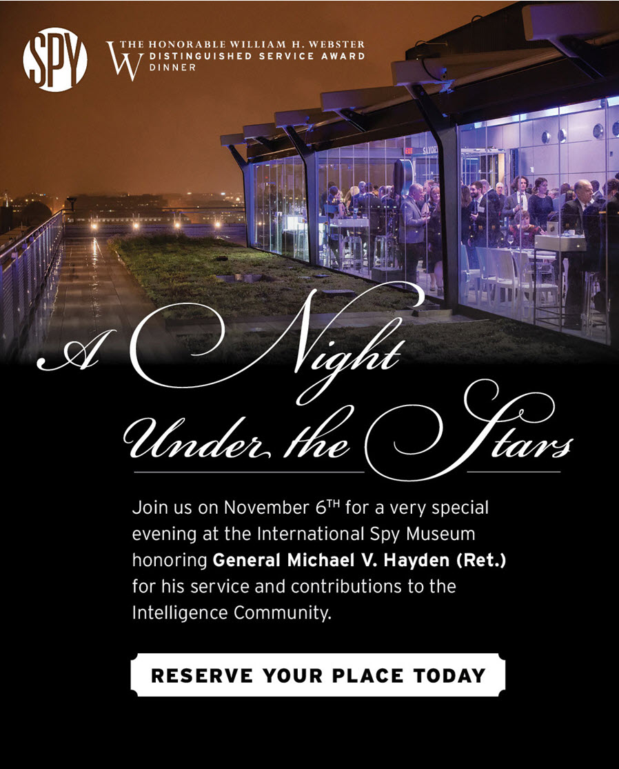 A Night Under the Stars - Gala Event at the International Spy Museum