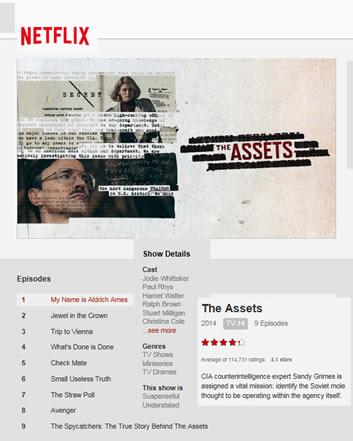 The Assets on Netflix