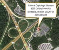 National Cryptologic Museum Map