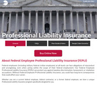 Starr-Wright Federal Employee Liability Insurance
